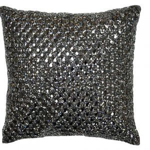 Cluster Cushion Copper Black