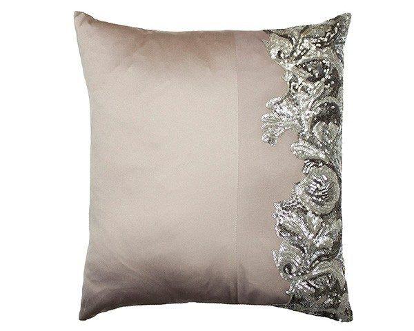 Claudia Kitten Grey Cushion